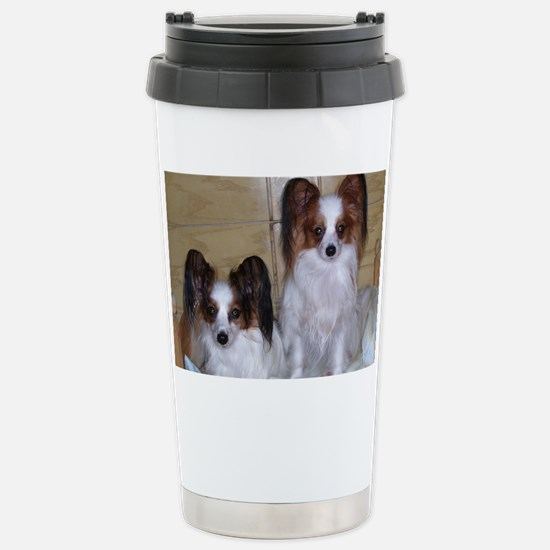 Papillions! Stainless Steel Travel Mug