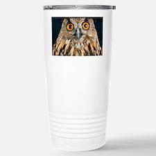 Long-eared owl Travel Mug