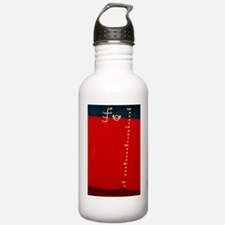Load lines on side of  Water Bottle