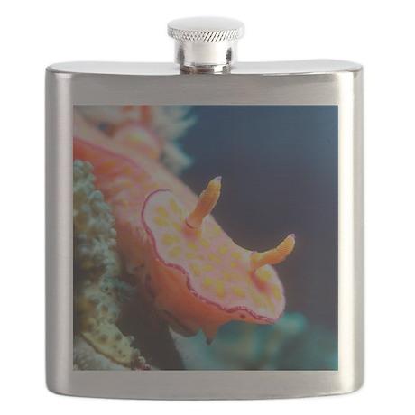 Long-tail ceratosoma sea slug Flask