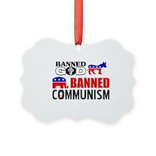 God or Communism? Ornament