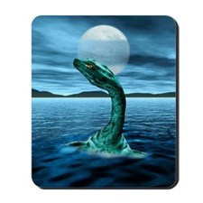 Loch Ness Monster Mousepad