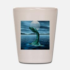 Loch Ness Monster Shot Glass