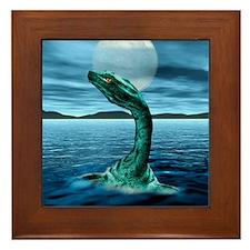 Loch Ness Monster Framed Tile