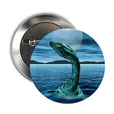 """Loch Ness Monster 2.25"""" Button"""