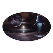 Manned mission to Charon, artwork Decal