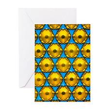 Macrophotograph of ball bearings sus Greeting Card
