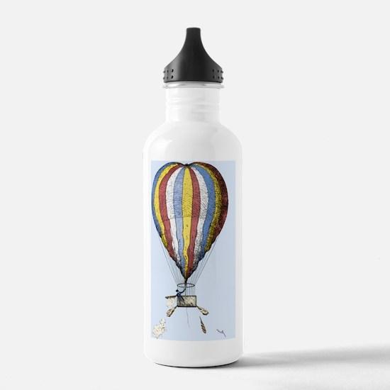 Lunardi's balloon, 178 Sports Water Bottle