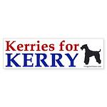 Kerries for Kerry (bumper sticker)