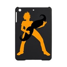 Hair Guitar Orange iPad Mini Case