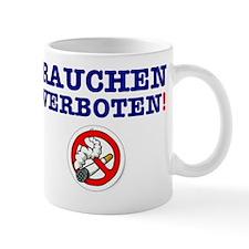 NO SMOKING - GERMAN Mug