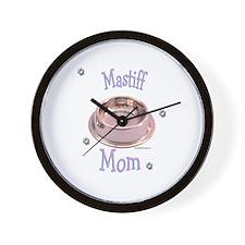 Mastiff Bowl(mom) Wall Clock