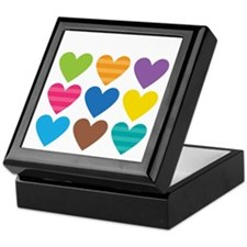 Barack Hearts Keepsake Box