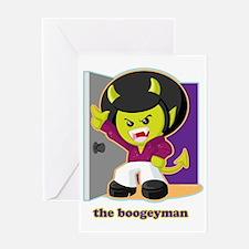 Boogeyman Greeting Card