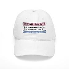 Vote No Minnesota! Baseball Cap