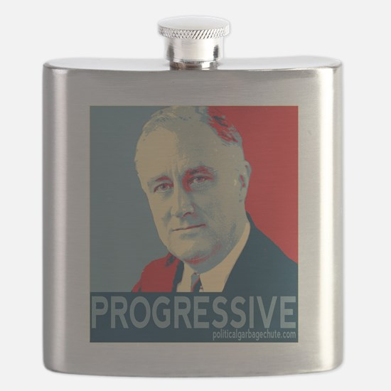 "FDR - ""PROGRESSIVE"" Flask"