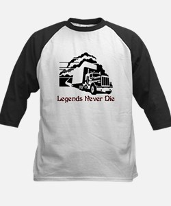 Legends Never Die Kids Baseball Jersey
