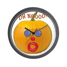 Oh No! Mr.Pumpkin! Wall Clock