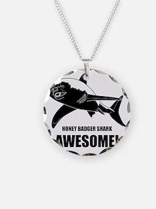 Honey Badger Shark Necklace