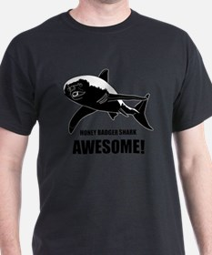 Honey Badger Shark T-Shirt