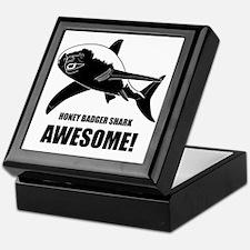 Honey Badger Shark Keepsake Box