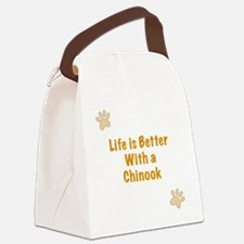 Life is better with a Chinook Canvas Lunch Bag