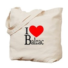 I Love Balzac Tote Bag