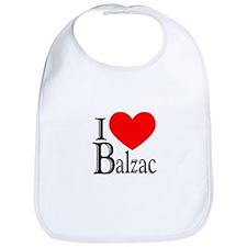 I Love Balzac Bib