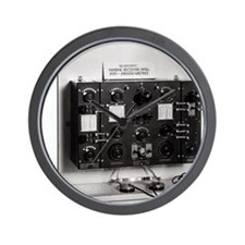 Marconi radio apparatus Wall Clock
