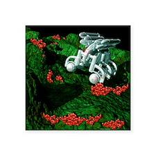 "Medical nanorobot Square Sticker 3"" x 3"""