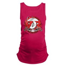 vdr2Dark Maternity Tank Top