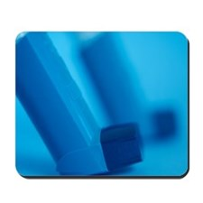 Asthma inhalers Mousepad