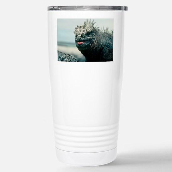 Marine iguana Stainless Steel Travel Mug