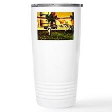 Mars base Travel Coffee Mug