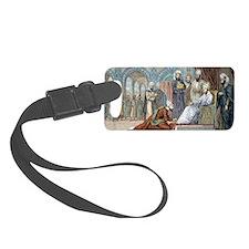 Avicenna, Islamic physician Luggage Tag