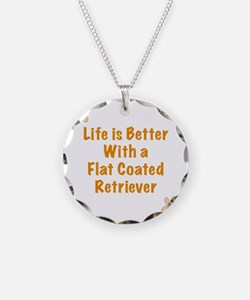 Life is better with a Flat C Necklace