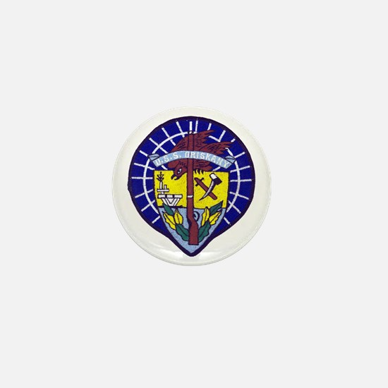 uss oriskany patch transparent Mini Button