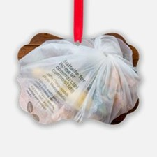 Biodegradable plastic bag Ornament