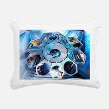MEMS production, metal e Rectangular Canvas Pillow