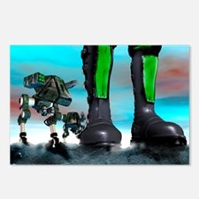 Military robots Postcards (Package of 8)