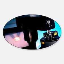 Atomic force microscope Sticker (Oval)