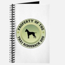 Ridgeback Property Journal