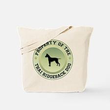 Ridgeback Property Tote Bag