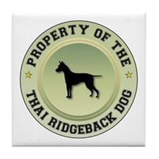 Ridgeback Property Tile Coaster