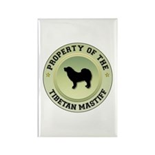 Mastiff Property Rectangle Magnet (100 pack)