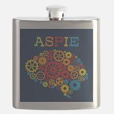 Aspie Brain Autism Flask