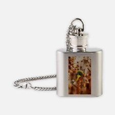 Medical nanotechnology, artwork Flask Necklace