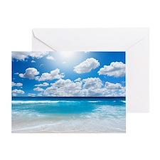 Sunny Beach Greeting Card