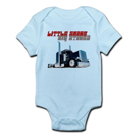 Little Shack Big Stacks Infant Bodysuit