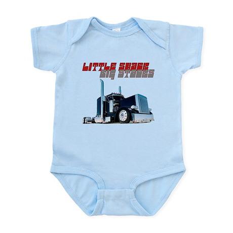 Little Shack Big Stacks Infant Bodysuit